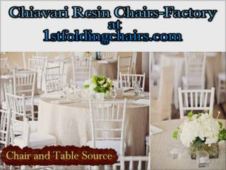 Chiavari Resin Chairs-Factory at 1stfoldingchairs.com