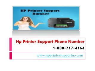Hp Printer Support Phone Number 1-800-717-4164