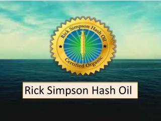 Rick Simpson Hash Oil