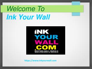 Welcome to INK YOUR WALL