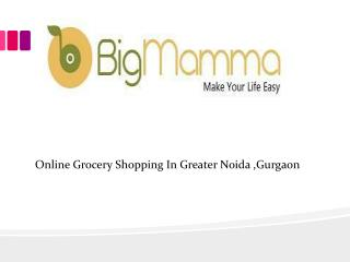 online grocery gurgaon