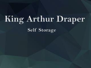 Storage Unit Sizes|King Arthur Draper