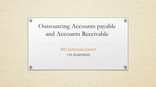 Outsourcing Accounts payable and Accounts Receivable