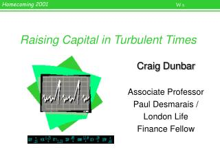 Raising Capital in Turbulent Times