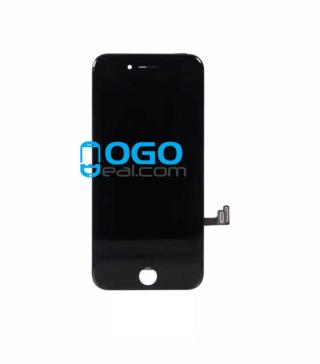 For Apple iPhone 7 Digitizer and LCD Screen Assembly with Frame Replacement - Black, Premium