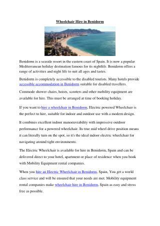 wheelchair hire in benidorm.pdf