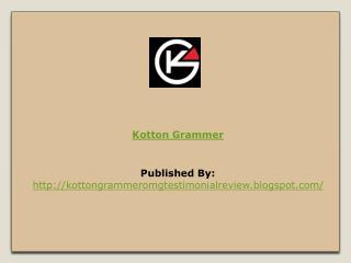 Kotton Grammer Reviews