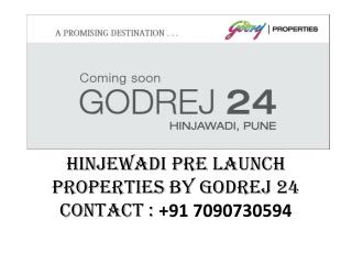 Properties by Godrej 24 in Hinjewadi, Pune