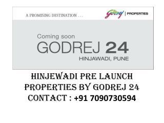 Properties by Godrej 24 in Hinjewadi, Pune