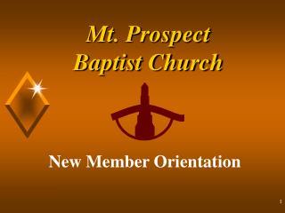 Mt. Prospect  Baptist Church