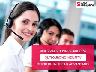 Philippines Business Process Outsourcing Industry Riding On Inherent Advantages - Asia Telecom Outsourcing