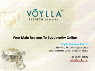 Four Main Reasons to Buy Jewelry online