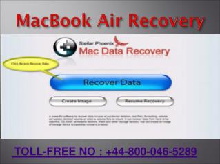 How to Fix MacBook Air Recovery Errors