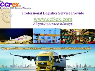 Air freight forwarders in china