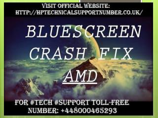 Call  448000465293|How to Fix Blue Screen of Death on Windows 7/8/10 by HP Technical Support Number?