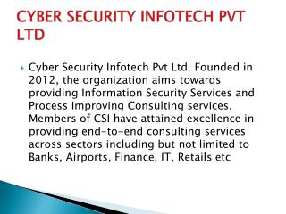 Cyber Security Infotech