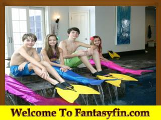 Get into the skin of a Mermaid with Fantasy Fins