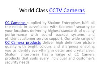 2 Camera Systems, 4 Camera Systems, 8 Camera Systems, 16 Camera Systems