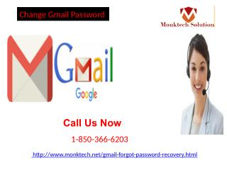 What should I do to Change Gmail Password 1-850-366-6203 of my account?