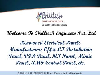 Main LT Panel Manufacturers