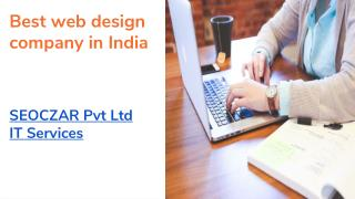 Best website design company in India