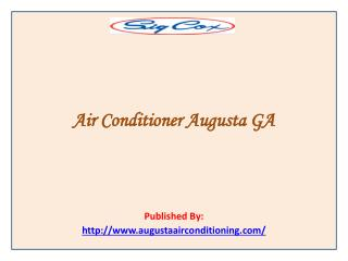 Sig Cox-Air Conditioner Augusta GA