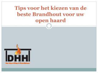 Tips voor het kiezen van de beste Brandhout voor uw openhaard