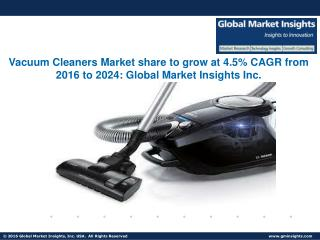 Household Vacuum Cleaners Market to exceed $17.5bn by 2024
