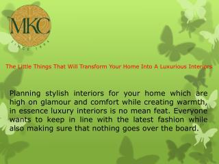 Top Interior Designers in India