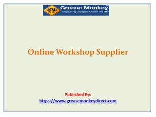 Online Workshop Supplier