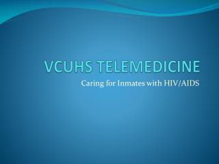 VCUHS TELEMEDICINE