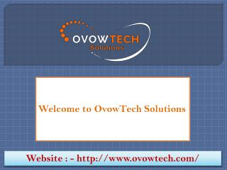 Website development company - Ovowtech