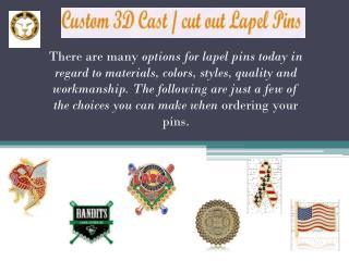 Quality Custom Lapel Pin Choices