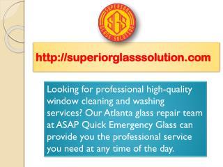 Window Cleaning Atlanta