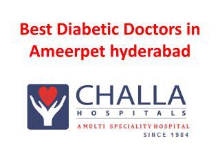Best Diabetic Doctors in Ameerpet hyderabad