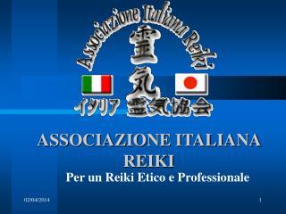 ASSOCIAZIONE ITALIANA REIKI