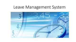Improved your company leave management with leave management software PeopleQlik