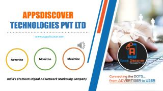 Premium Mobile Ad Network - APPS DISCOVER TECHNOLOGIES