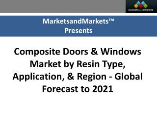 Composite Doors & Composite Windows Market worth 1,171.4 Million USD by 2021