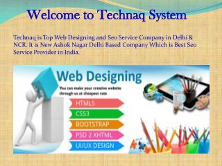 Web Designing Company in New Ashok Nagar