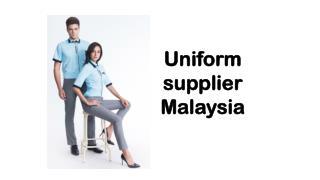 Uniform supplier Malaysia
