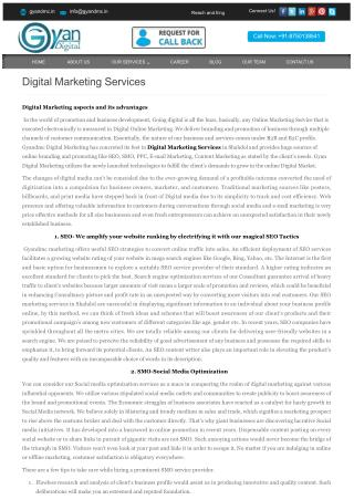 Boost Digital Marketing Services: Increase Website Traffic and Get Return!