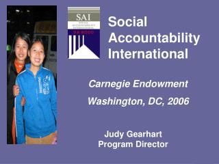 Social Accountability International