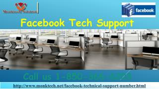 Is Facebook Tech Support really error-free 1-850-366-6203?