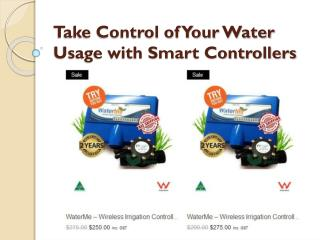 Take Control of Your Water Usage with Smart Controllers