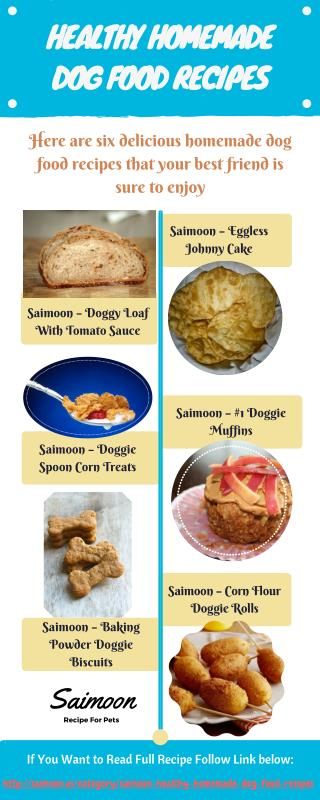 Saimoon's Homemade Dog Food Recipes
