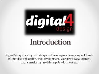 Select Digital4design Website Design Company in Florida