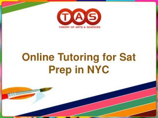 Online Tutoring for SAT Prep in NYC