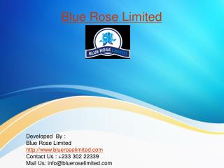 Real estate company | Bluerose Limited