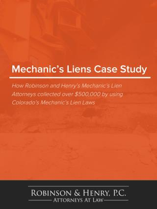 Mechanics Lien Whitepaper